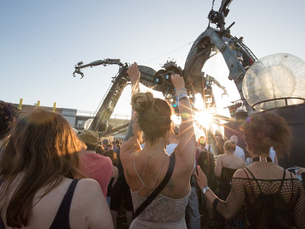 In Review: Arcadia 10th Anniversary Sunday, London Olympic Park