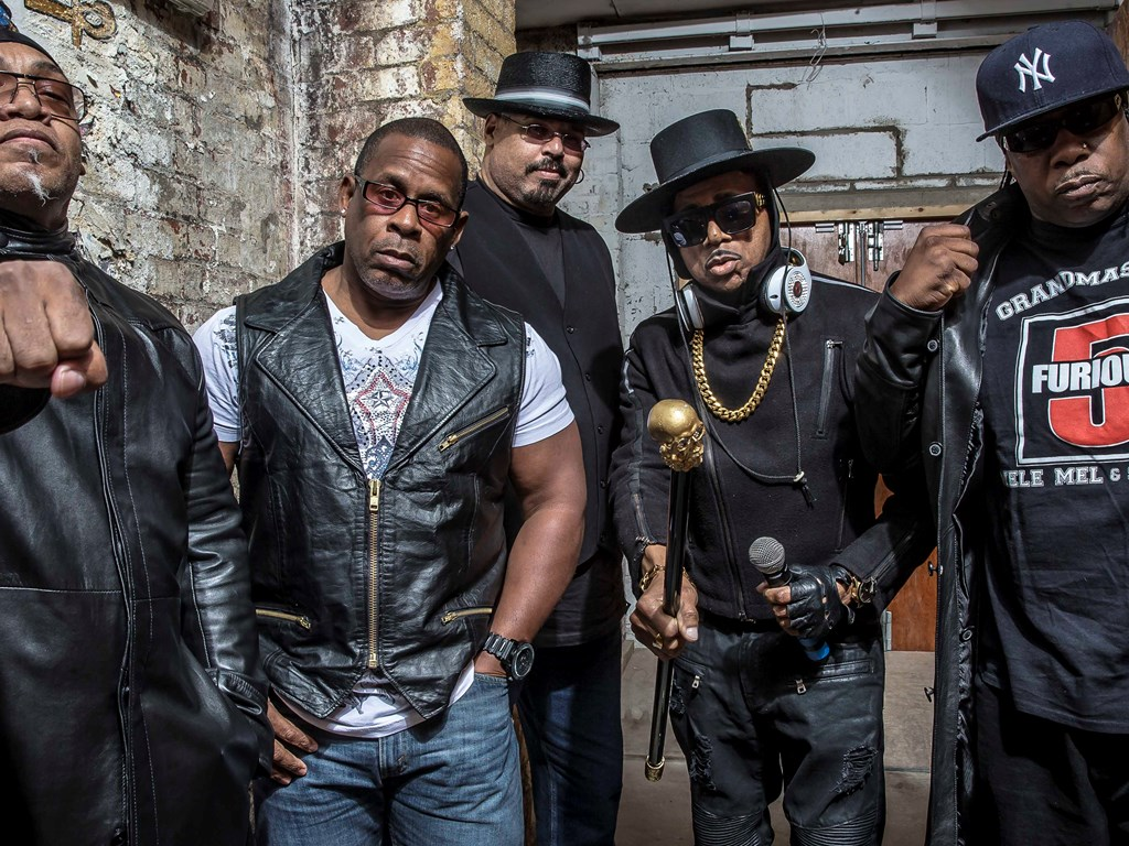 The Sugarhill Gang, Grandmaster Melle Mel & Scorpio of Furious Five take to Bristol