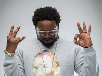 T-Pain heads to deliver his hip hop in Manchester