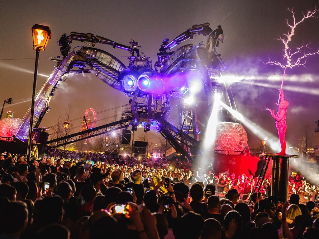 Phase one lineup revealed for Arcadia London 2019