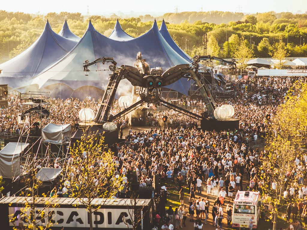 Arcadia reveal further acts for 2019 lineup with Pan-Pot, Melé, Dimension, Lady Leshurr and more