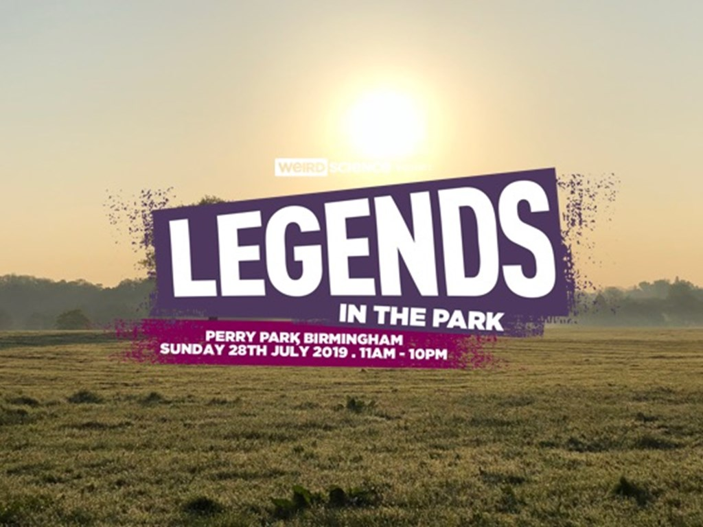 Legends In The Park 2019