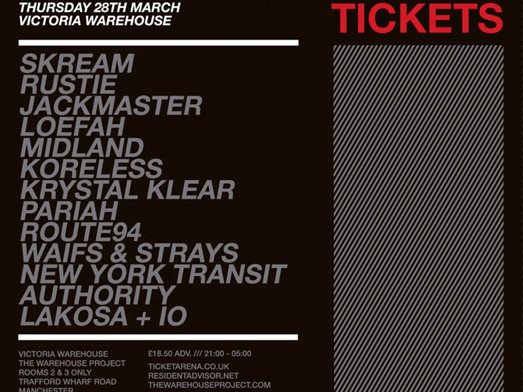 [Competition] Win Free Tickets to Skreamizm at The Warehouse Project