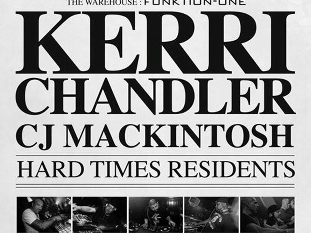 Kerri Chandler returns to Leeds for Hard Times