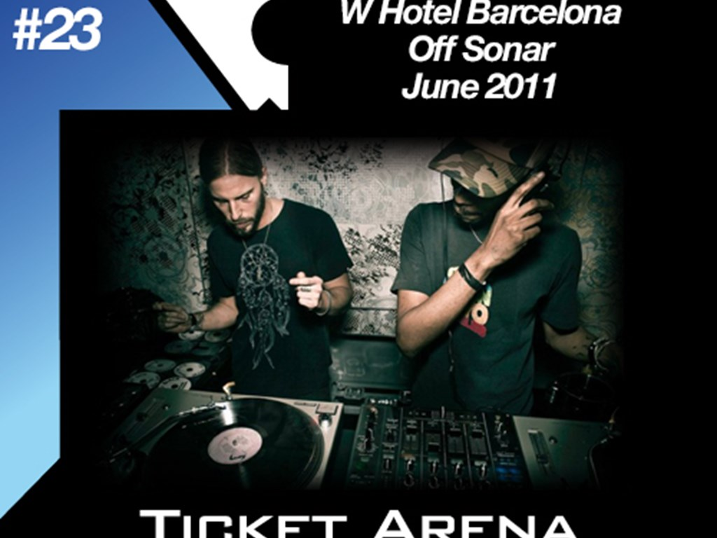 [Mix Of The Week #23] Art Department at W Hotel Barcelona – Off Sonar (June 2011)