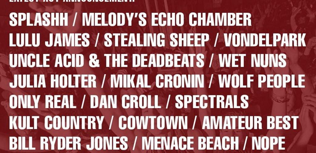 Beacons announce over 20 new acts