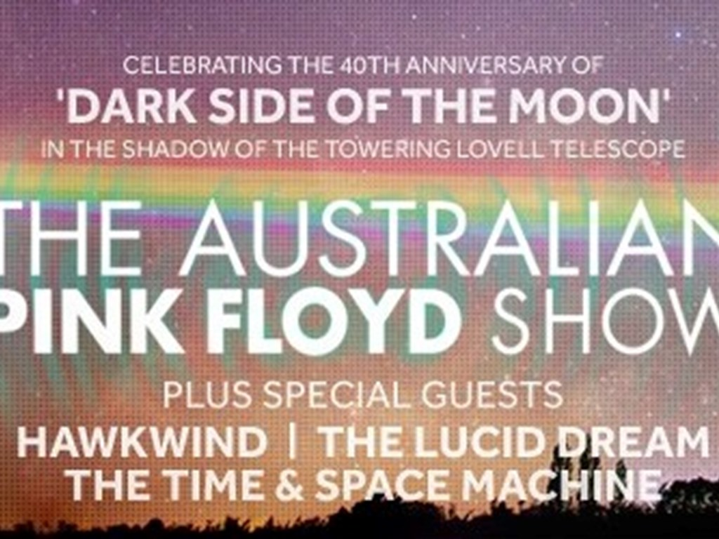 Live From Jodrell Bank announce support acts for Australian Pink show