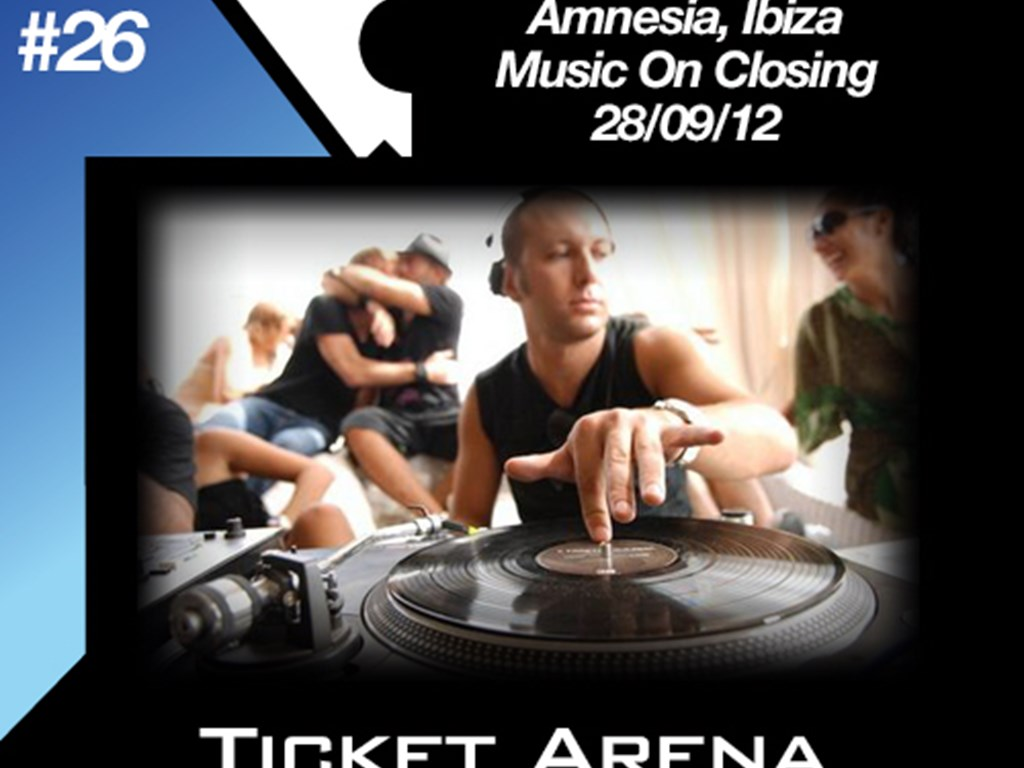[Mix Of The Week 26] Marco Carola at Music On Closing, Amnesia, Ibiza (28/09/12)