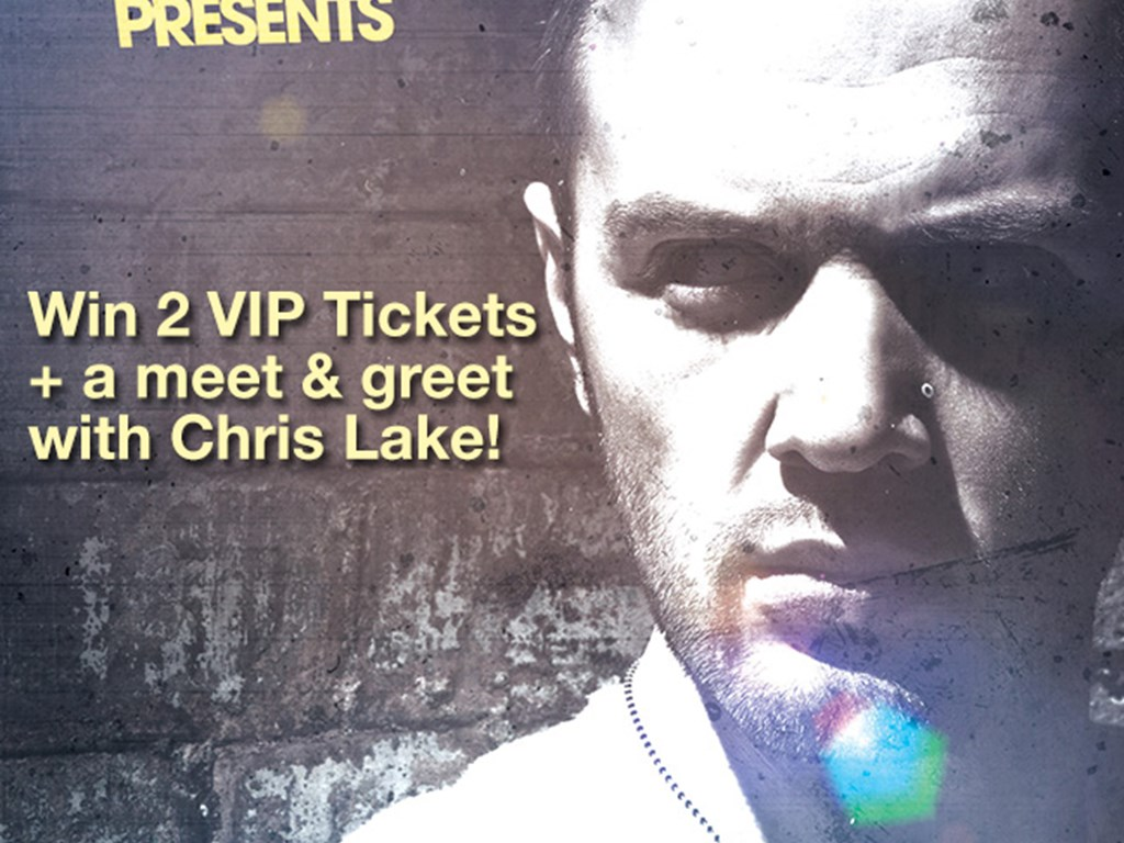 [Competition] Win VIP tickets and a meet & greet with Chris Lake at Venus