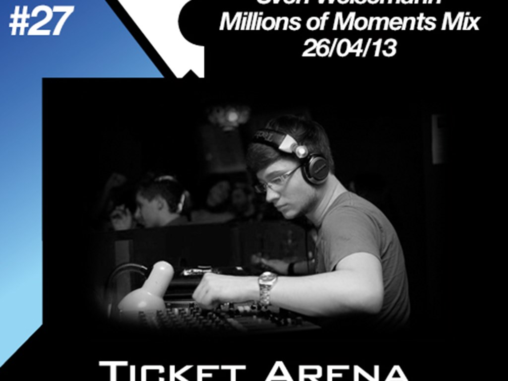 [Mix Of The Week 27] Sven Weisemann – Millions of Moments Mix (26/04/13)