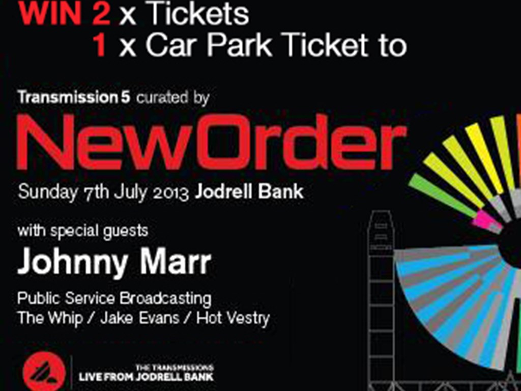 [Competition] Win Tickets to New Order Live From Jodrell Bank