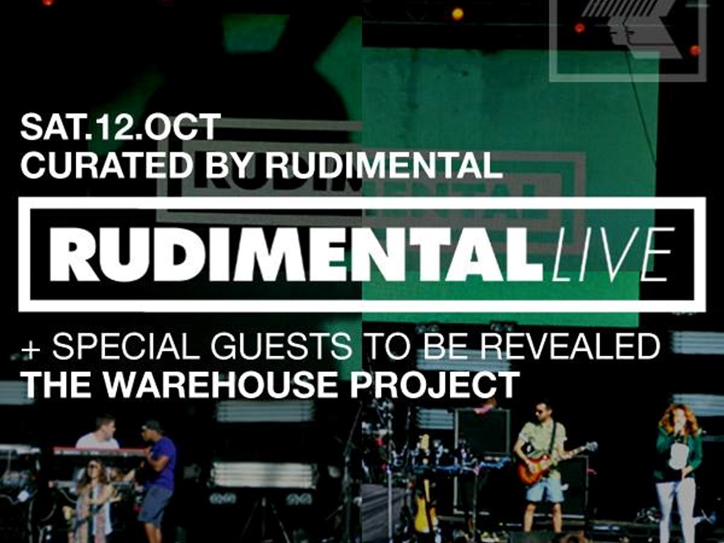 Rudimental at The Warehouse Project – On Sale Now