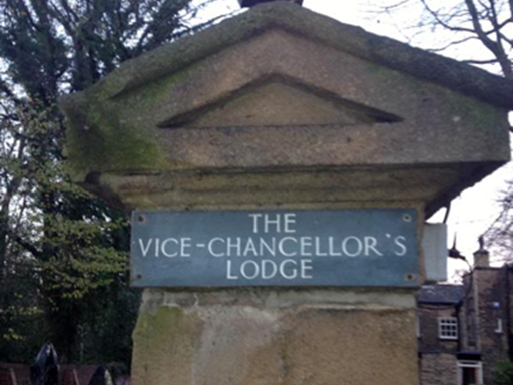 Brand new mansion venue, Vice Chancellors Lodge