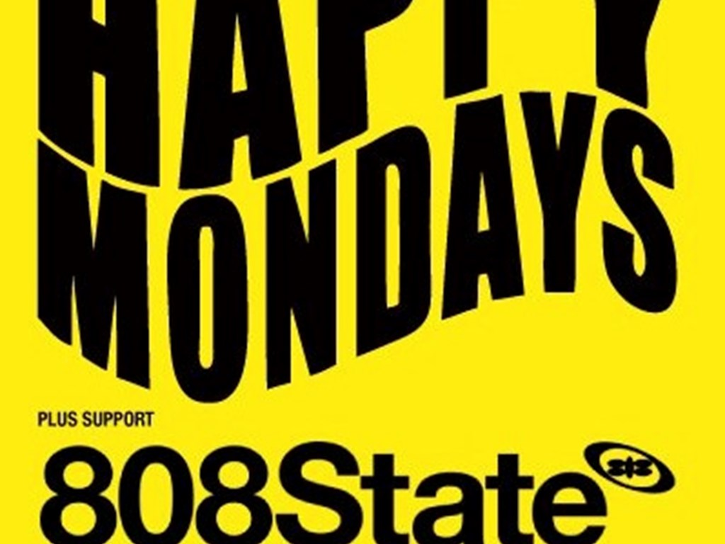 Victoria Warehouse pres. a Manchester special this Saturday with The Happy Mondays & 808 State [Live]