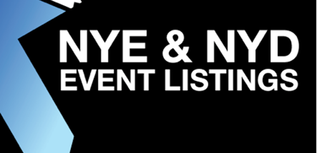 New Years Eve + New Years Day events and Lineups