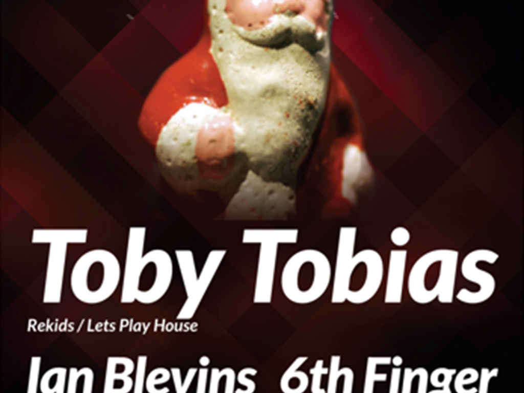 Butter Side Up bring Toby Tobias to Leeds for their Christmas Party