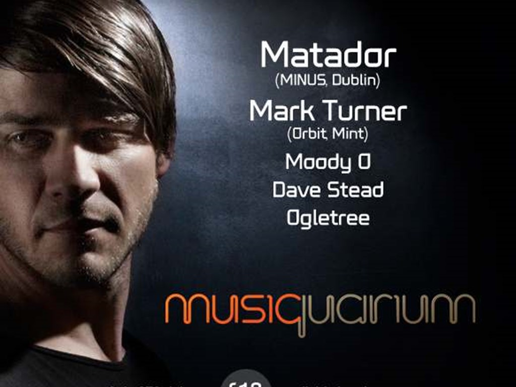 Richie Hawtin's protege, Matador brings his live show to Leeds