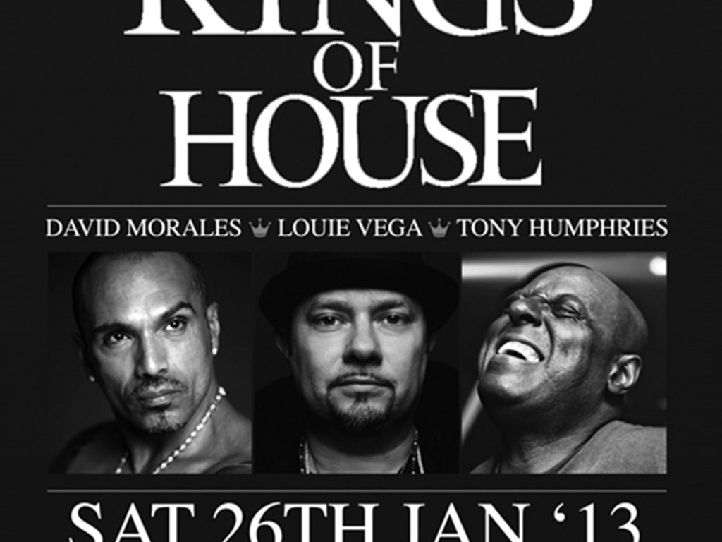 Hard Times bring The 3 Kings Of House to London