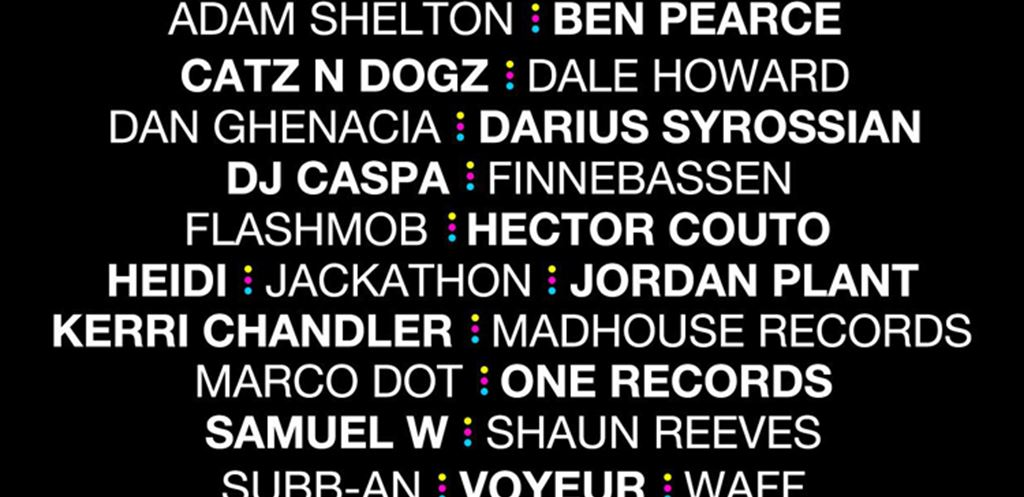 Teknicolor release Jan - March lineups and tickets