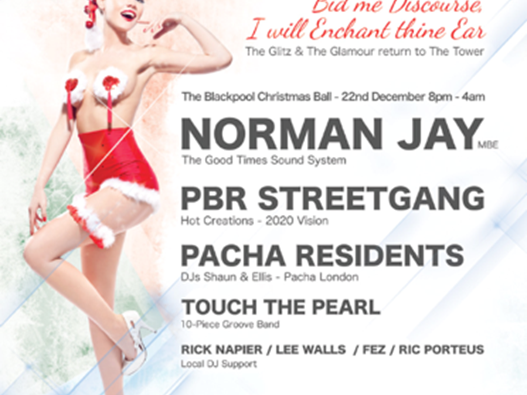 Pacha's UK Tour hits The Blackpool Christmas
