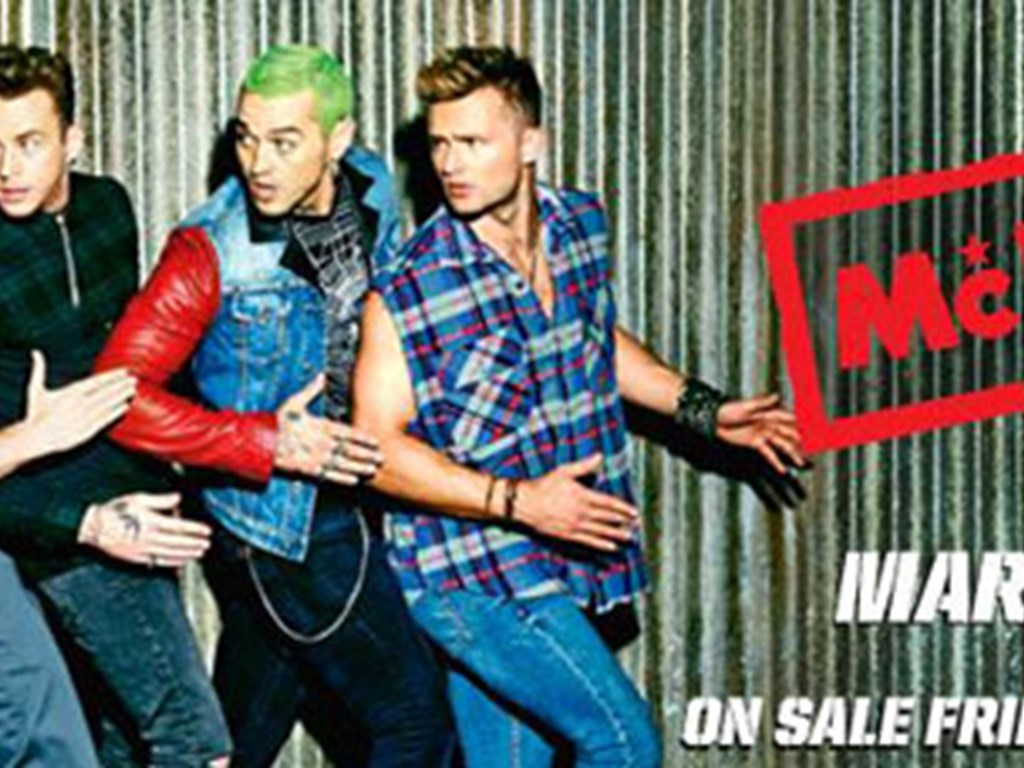 McBusted 2015 UK Tour - Tickets On Sale Now