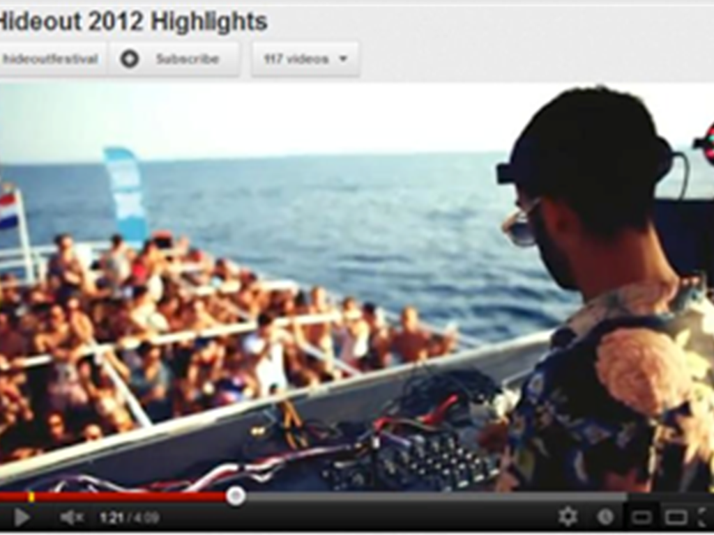 Hideout Festival 2013 announcement and 2012 highlight video release