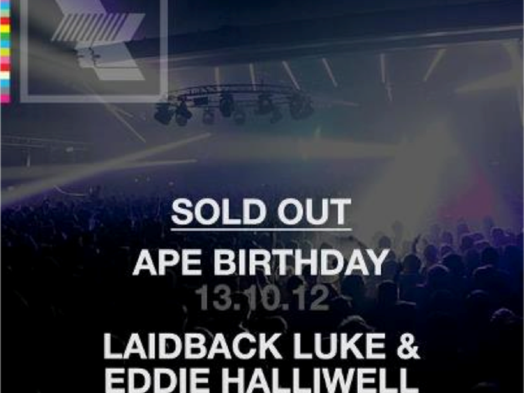 Warehouse Project Ape Birthday and Laidback Luke