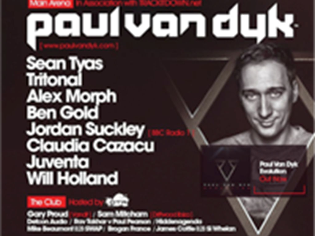 Digital Society & Goodgreef pres. Paul Van Dyks Evolution World Tour / Goodgreef 12th birthday