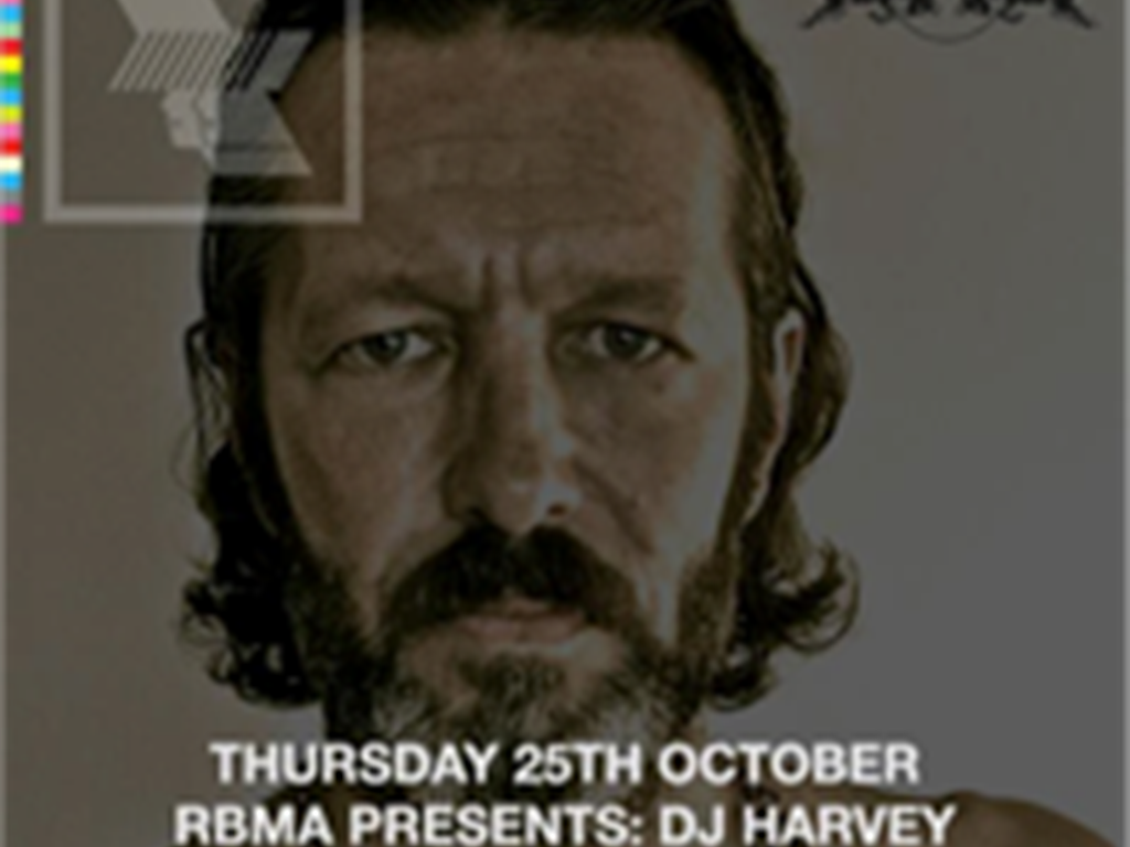 WHP announce new date with DJ Harvey