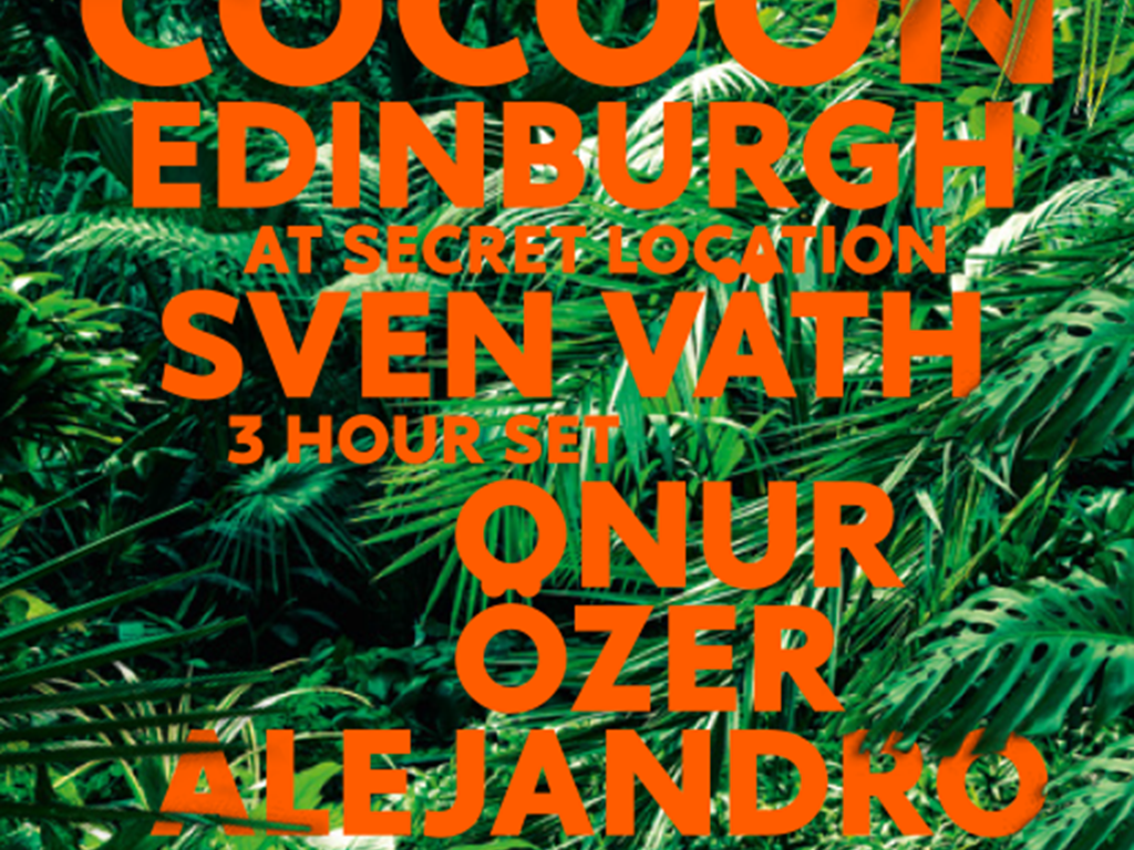 Sven Väth's Cocoon World Tour hits Edinburgh