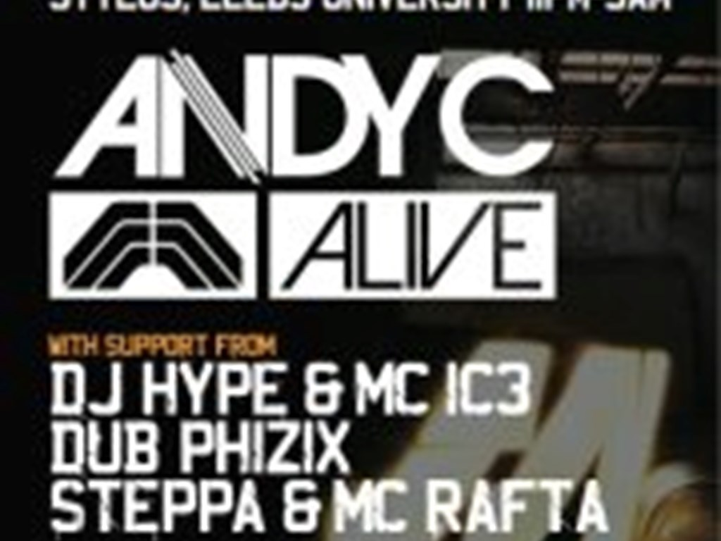 Metropolis presents... Andy C Alive in Leeds
