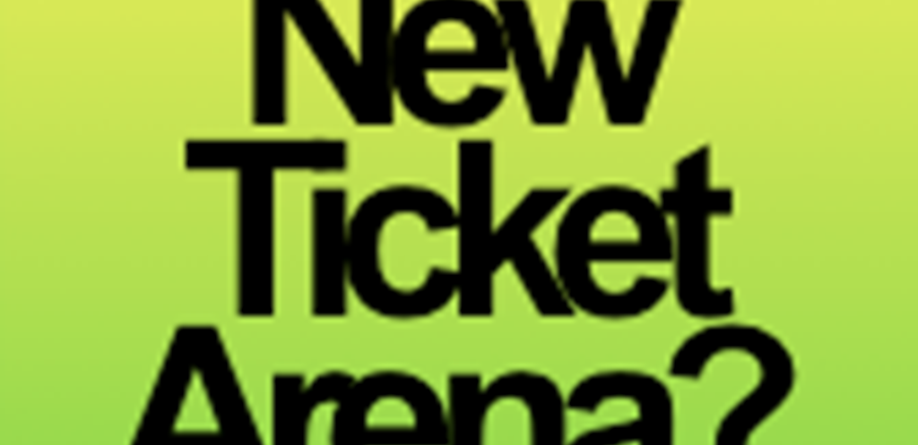 Brand new Ticket Arena website