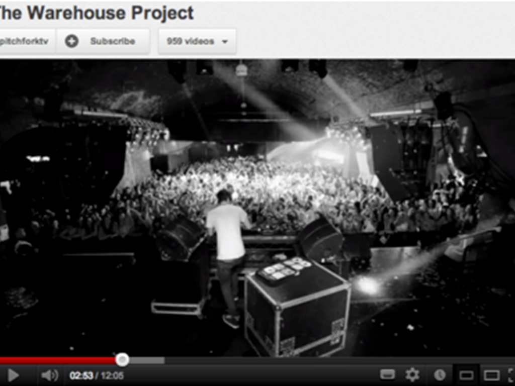 Pitchfork.tv release documentary on The Warehouse