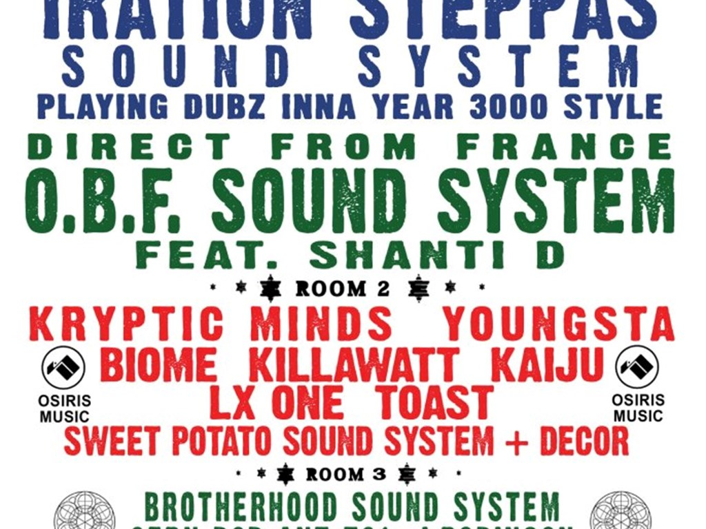 [Event Review] SUBDUB pres. Iration Steppas, O.B.F. Sound System, Kryptic Minds & more