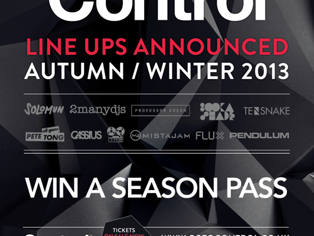 [Competition] Win a Season Pass to Control Leeds