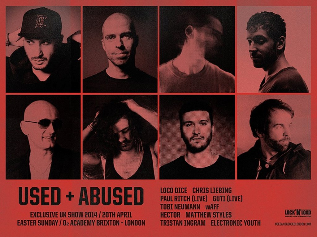 Lineup + Tickets - Loco Dice presents Used + Abused London