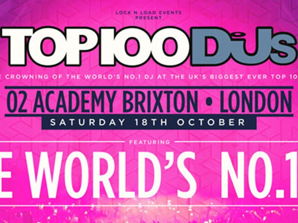 Win Tickets to DJ Mag Top 100 DJs Poll Party!