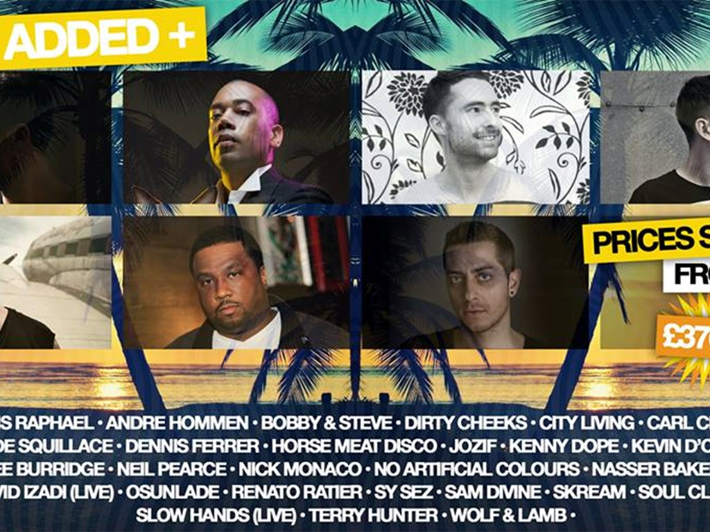 Carl Craig, Davide Squillace, Skream & more added to Groove Fest