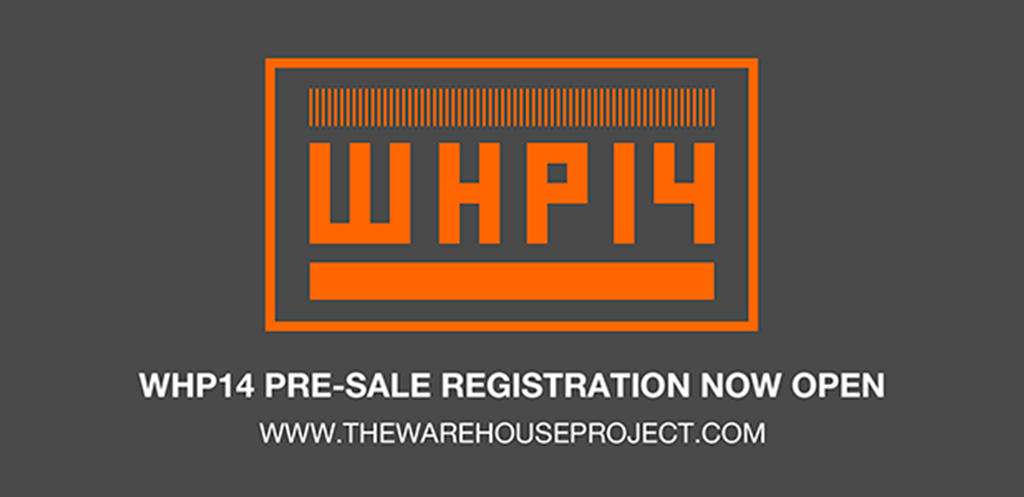 Sign up for priority tickets to The Warehouse Project & win 4 Season Passes!