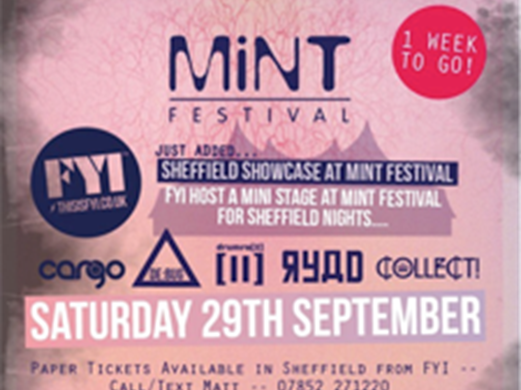 New Mint Festival mini stage will showcase the Sheffield house scene!