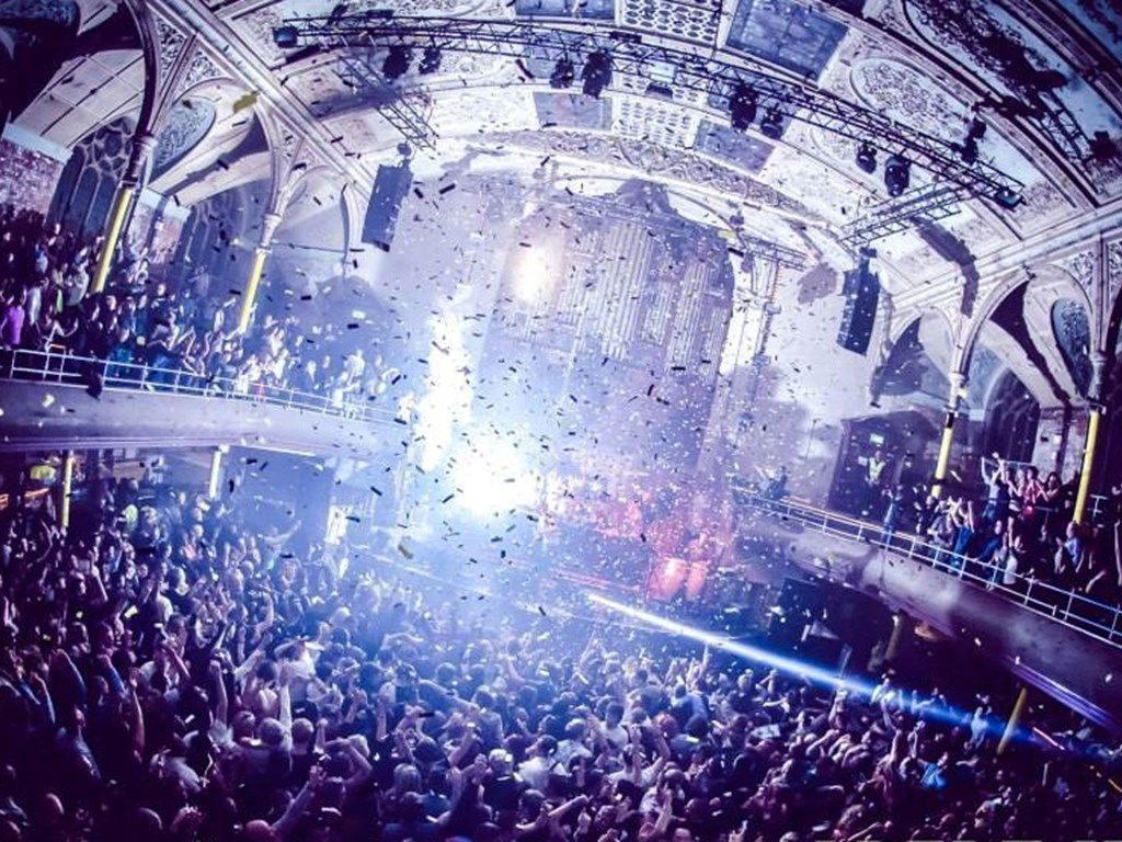 WHP & Trof take over The Albert Hall Manchester