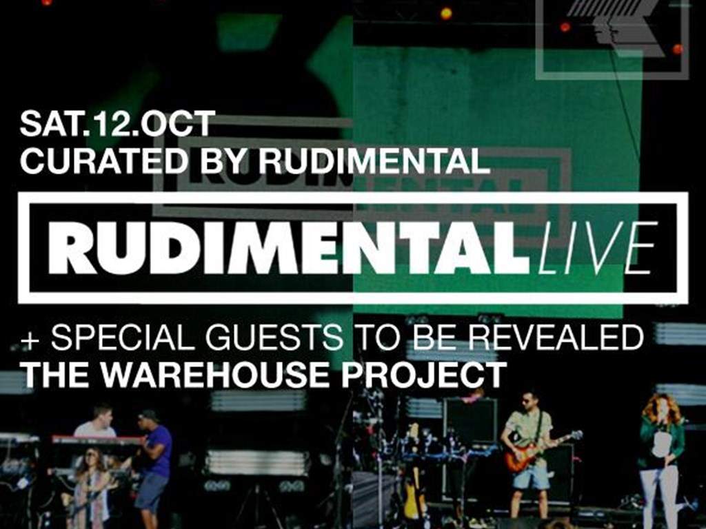 Rudimental bring their full live act to The Warehouse Project