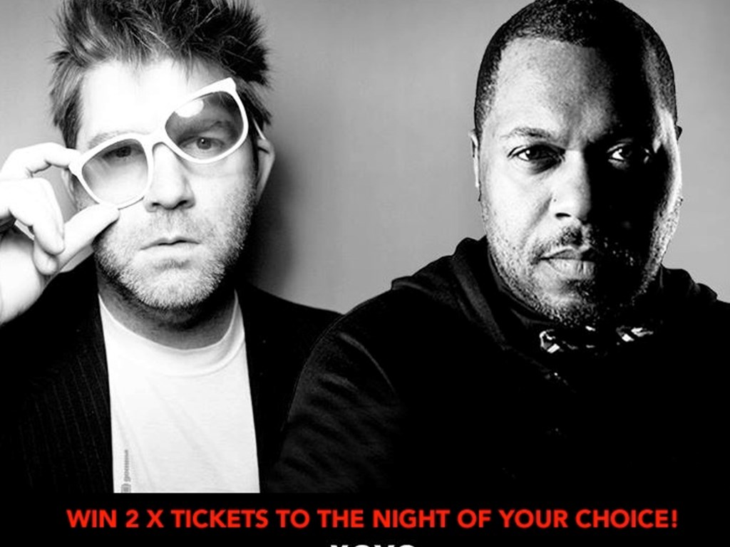 Win Tickets to XOYO's birthday 2 parter with James Murphy & Derrick Carter