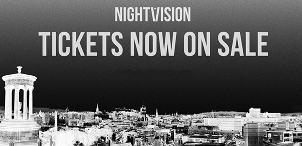 Nightvision Presents - 1st Phase Lineups & Tickets Released for Edinburgh's Newest Club Night Series