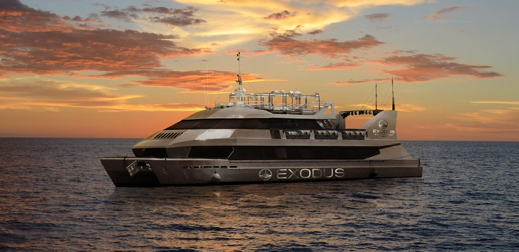 Ibiza boat parties are changing forever... Find out about the Exodus Super Yacht now