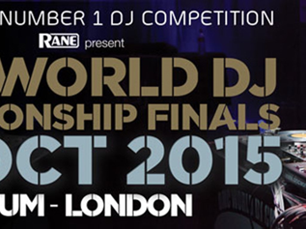 London hosts the DMC World DJ Championships