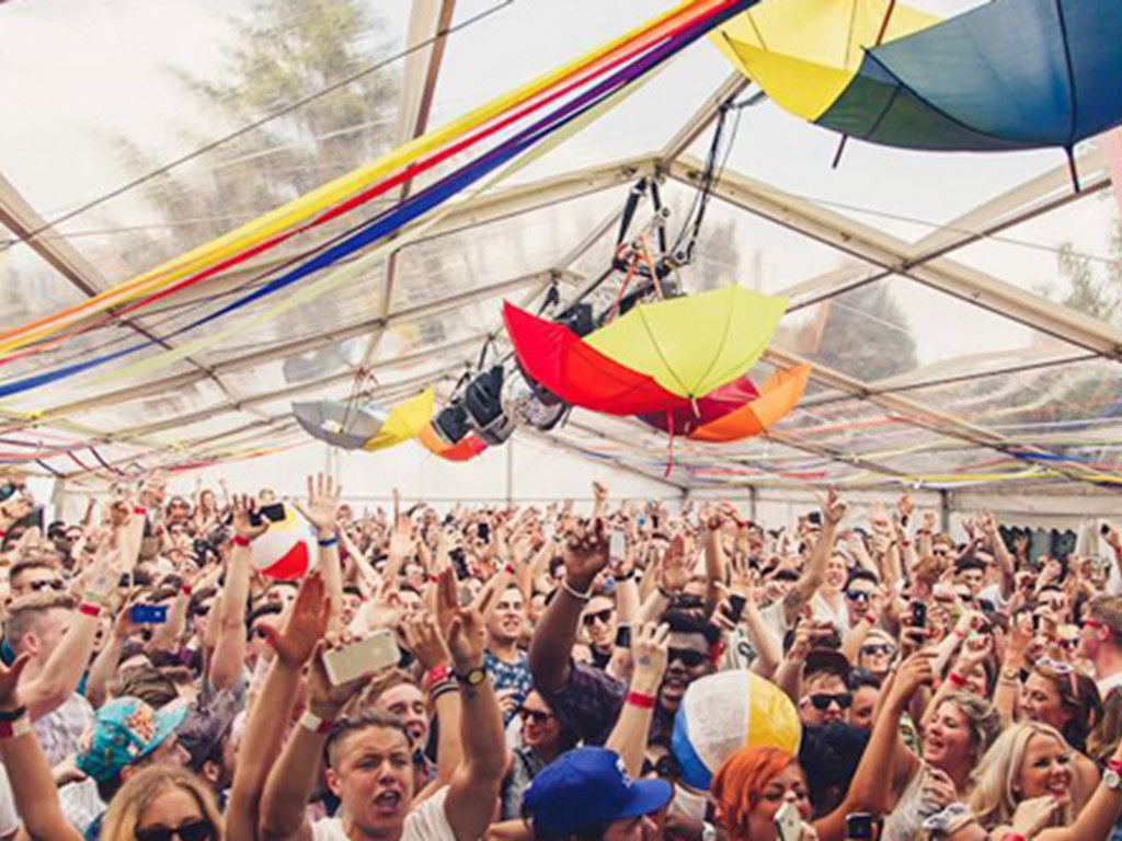The Garden Party celebrate 10 years of parties