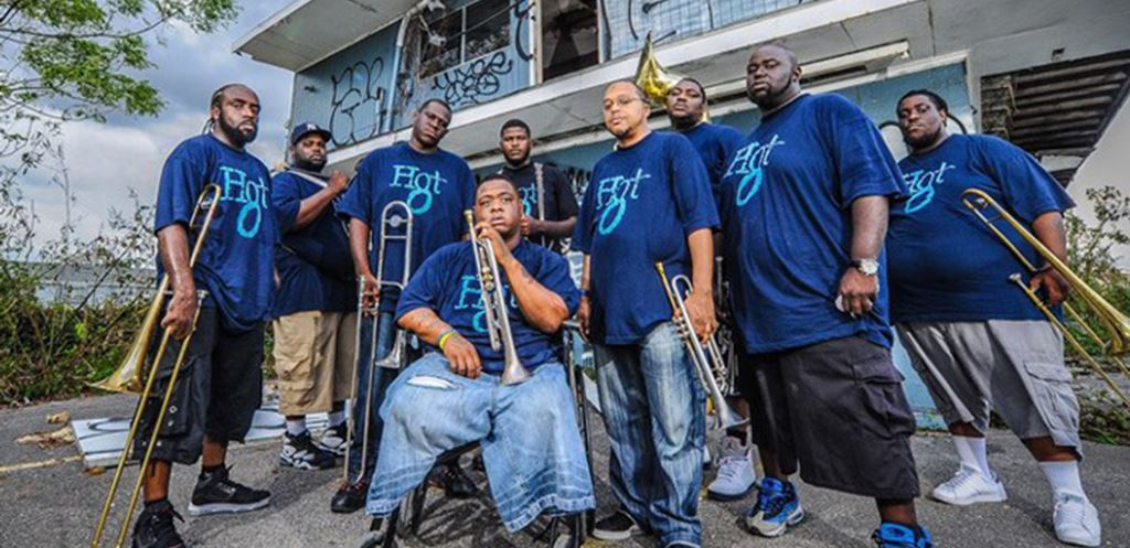 The Hot 8 Brass Band set to perform at The Garage in Highbury
