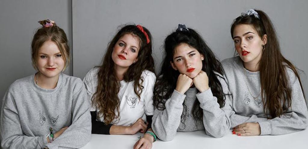 Listen to Hinds' Live Session On BBC 6Music