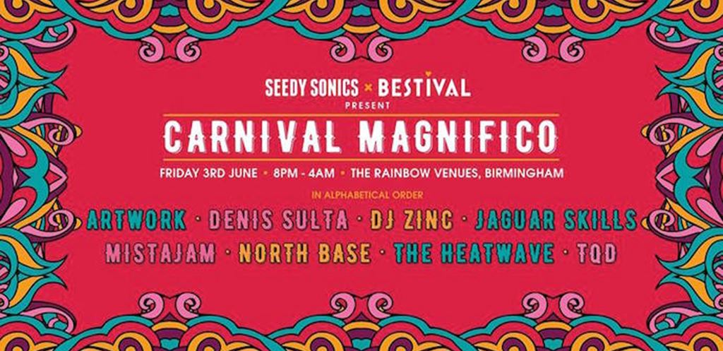 Carnival Magnifico to take over the entirety of The Rainbow Venues Birmingham
